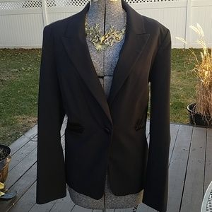 Attention Womens Tuxedo Style 2pc Suit size 14